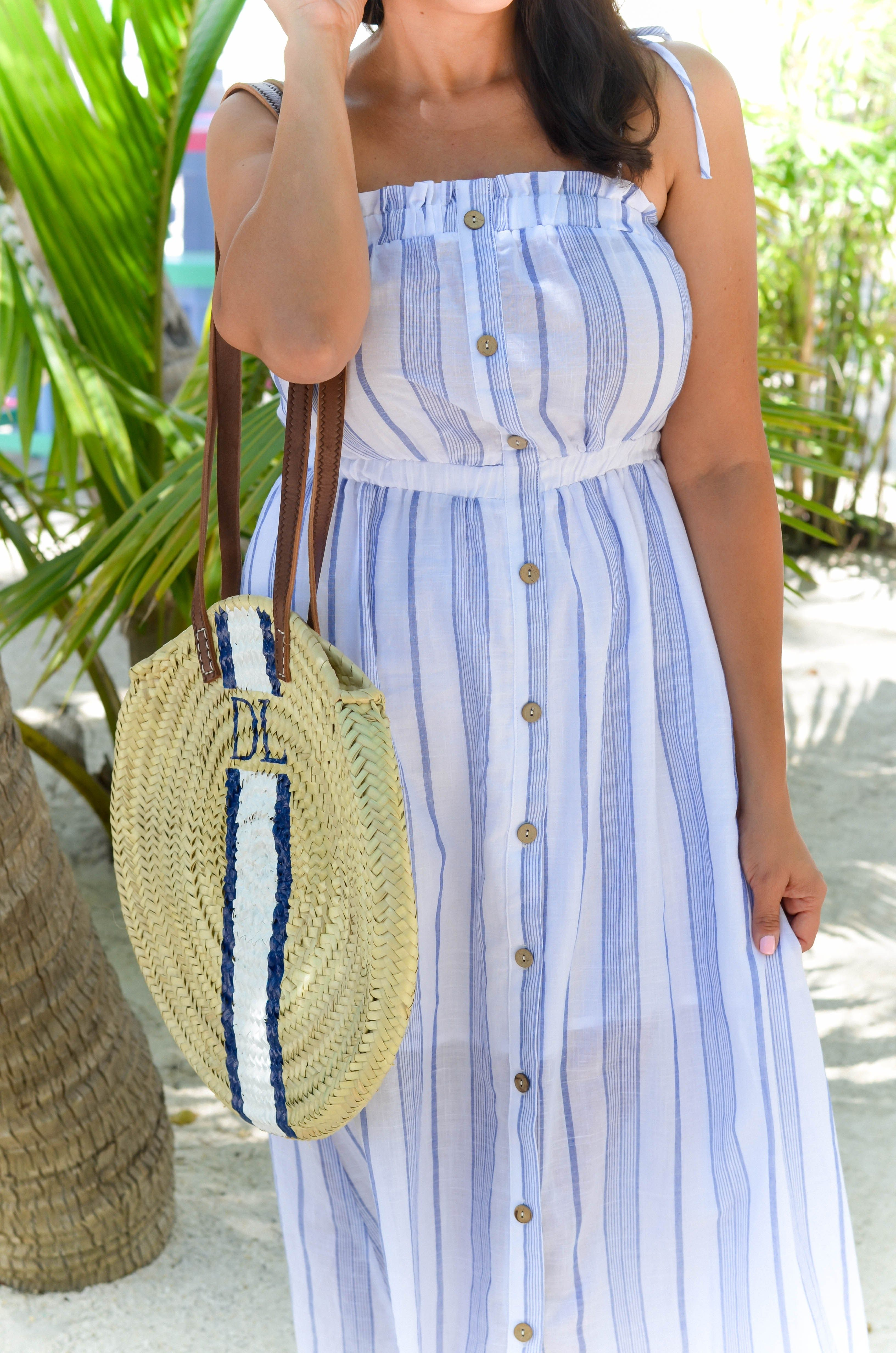 Blue And White Striped Summer Dress Beautifully Seaside Summer Dresses Striped Dress Summer Dresses [ 4928 x 3264 Pixel ]