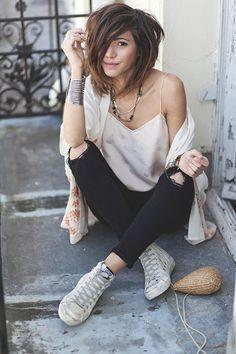 foto de Épinglé par Kremena Ivanova sur casual en 2019 Coiffures cheveux courts Coiffure et Coiffure