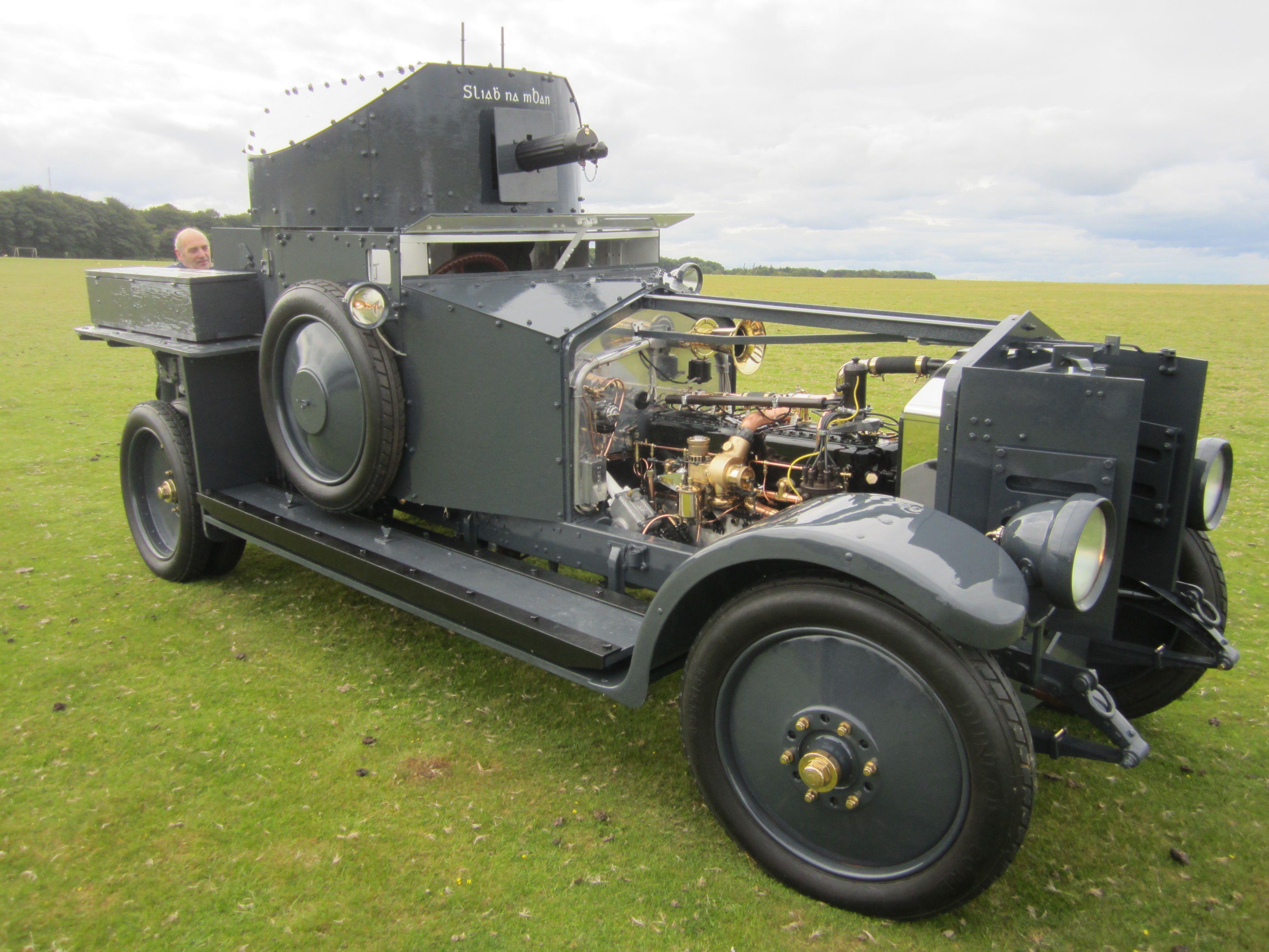 Armored Car - 1920 Rolls-Royce Mk1 - Royal Naval Air Service (RNAS ...