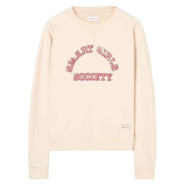 Gant Pullover Ecru Damen Online