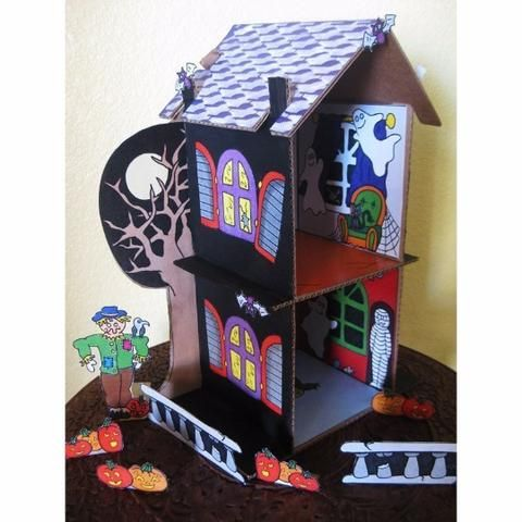 Decorative 'Haunted House' Printouts - Dolls And Daydreams