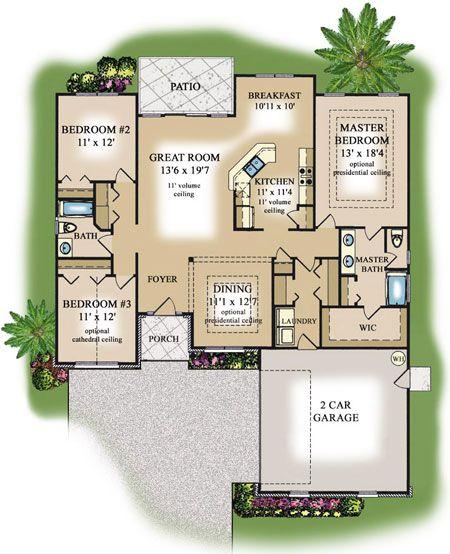 West Palm Beach Floor Plans Floor Plans   Beach House Plans