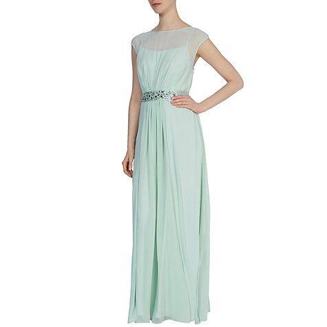 Buy Coast Lori Lee Maxi Dress, Green Online at johnlewis.com ...