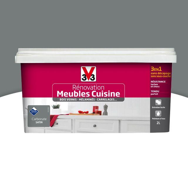 Peinture De Rénovation Meubles Cuisine V33 Carbonate Satin