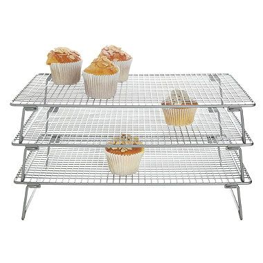3 Tier Cooling Rack From Lakeland With Images Baking Accessories Cooling Racks Tiered Cakes