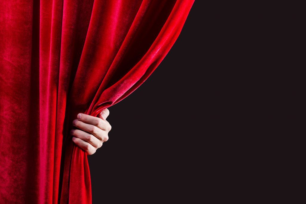 Image result for behind the curtain