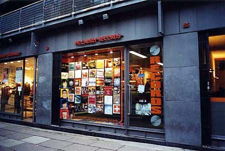 Piccadilly Records Vinyl Record Shop Record Store Vinyl Store
