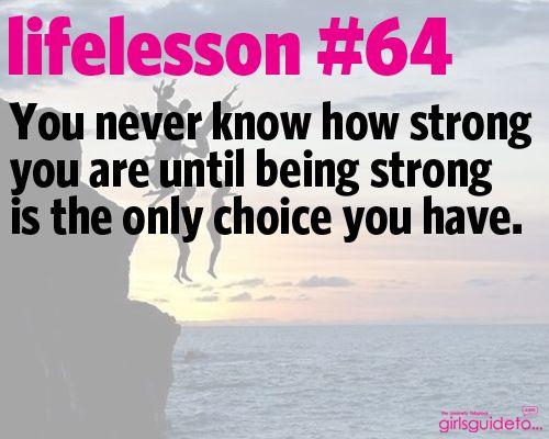 Little Life Lesson 64: Strength