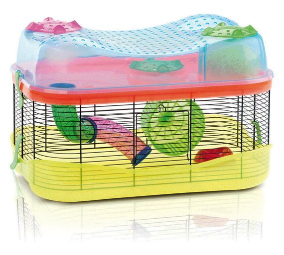 Buy Imac Hamster Fantasy Cage At Argos Co Uk Your Online Shop For Small Pet Habitats And Cages Small Pets Pet Supplies Hom Hamster Small Pets Hamster Cage
