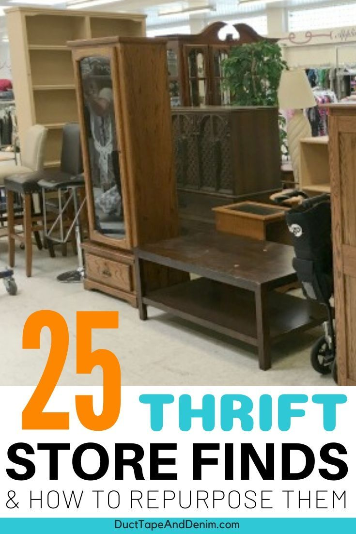 How to Repurpose Thrift Store Finds