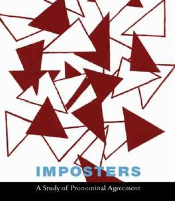 Imposters A Study Of Pronominal Agreement PDF Languages - agreement in pdf