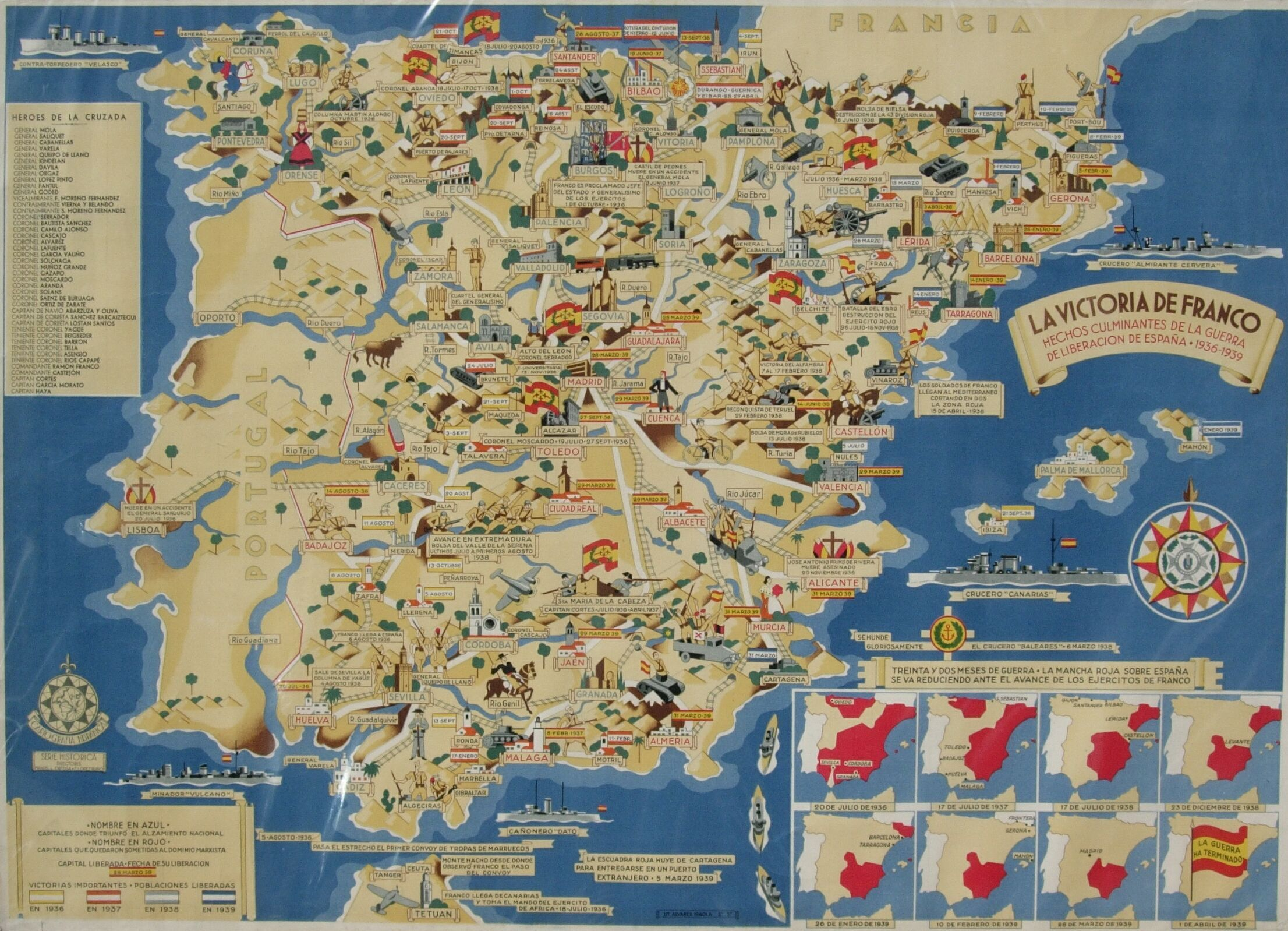 Mapa Guerra Civil Española.Pin En Spanish Civil War