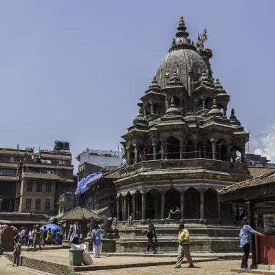 Ganesh temple in Durbar Square - Patan