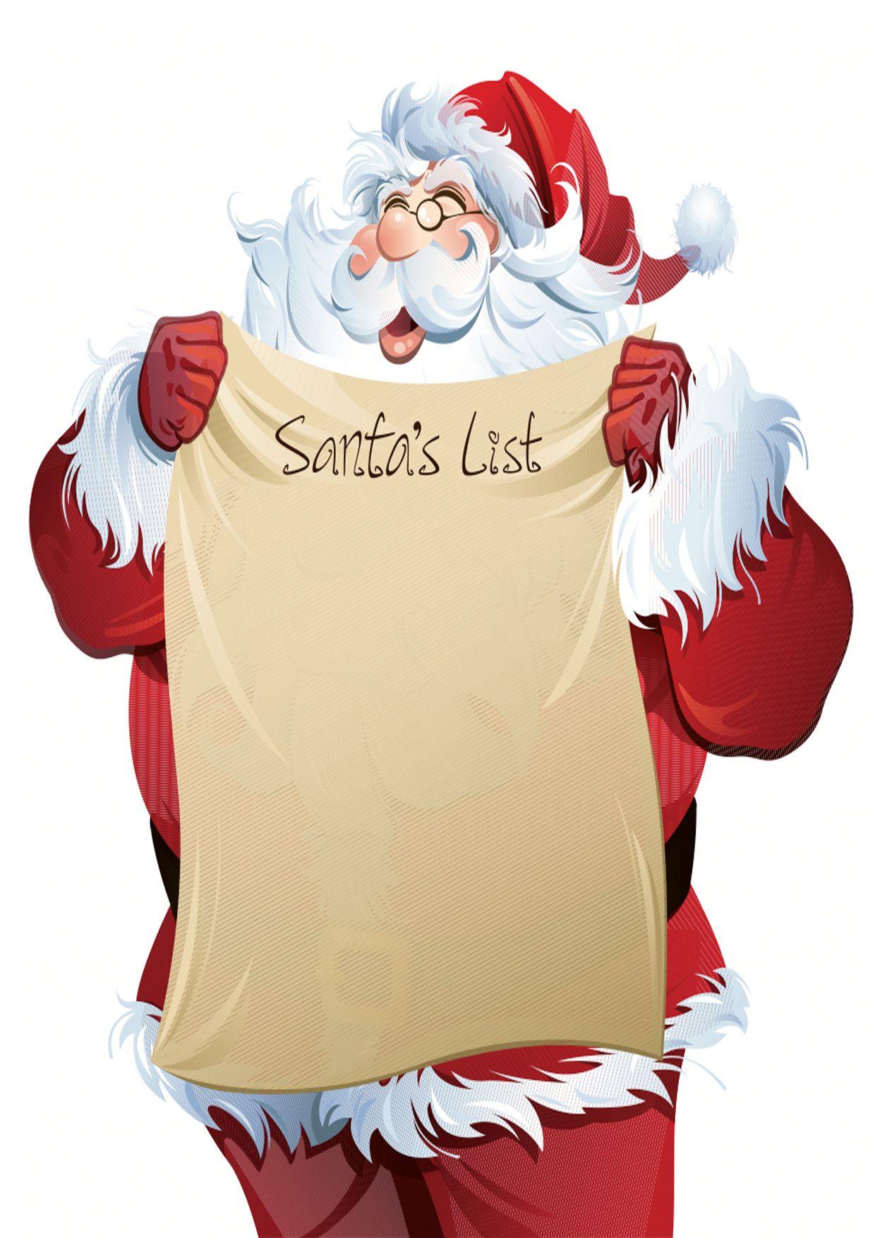 Modelli di Lettera a Babbo Natale da Stampare Gratis | Briefpapier