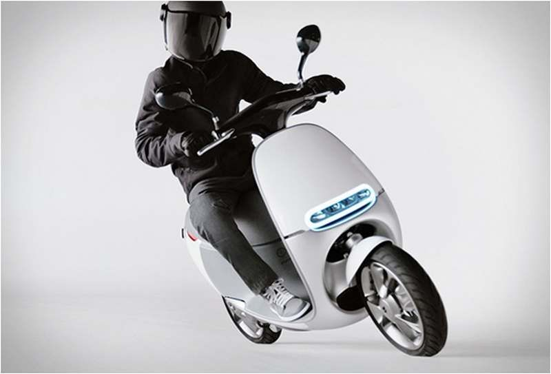 Gogoro Electric smart scooter | wordlessTech | Scooter. Vehicles. Car camera