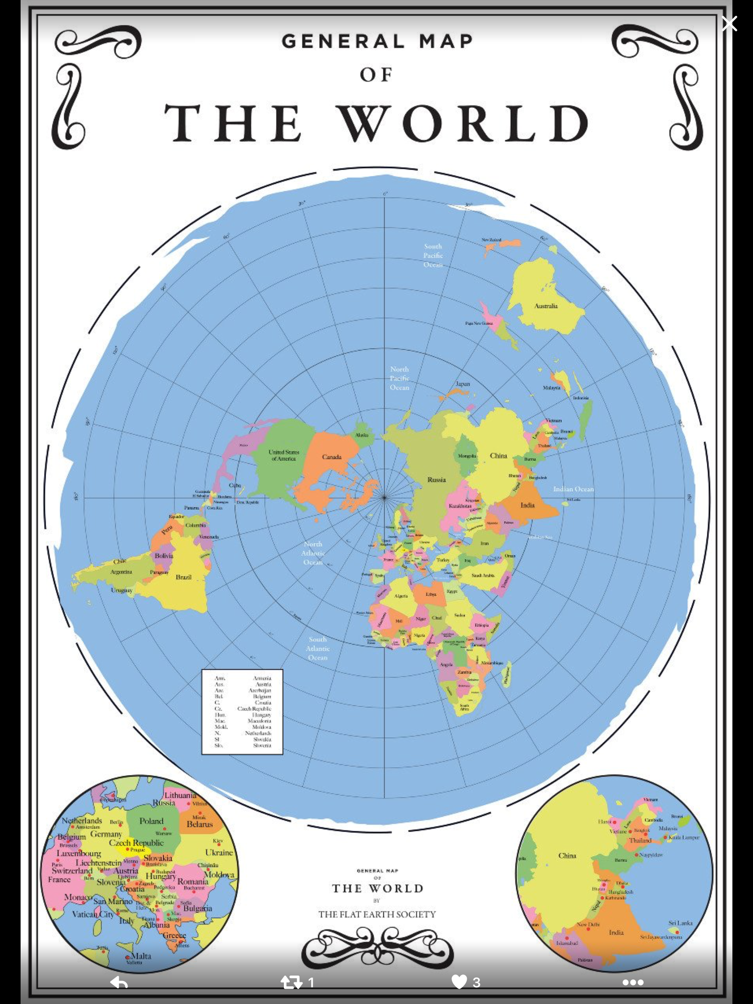Pin by eddy cannon on flat earth pinterest flat earth vsledek obrzku pro map of the world flat earth gumiabroncs Gallery