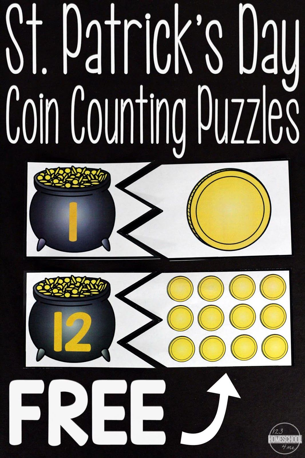 Free St Patrick S Day Count To 20