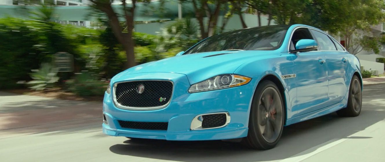 Jaguar XJR [X351] (2014) car in RIDE ALONG 2 (2016) # ...