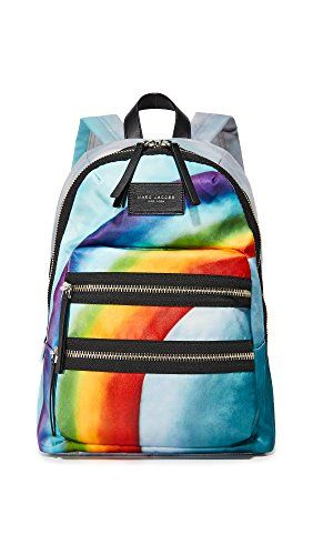 Marc Jacobs Women s Rainbow Printed Biker Backpack 6c6b2223cb53f