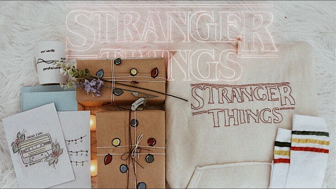 Diy Stranger Things Inspired Fandom Room Decor Gifts A Jessica Ralson Youtube Stranger Things Gifts Stranger Things Fandom Gift