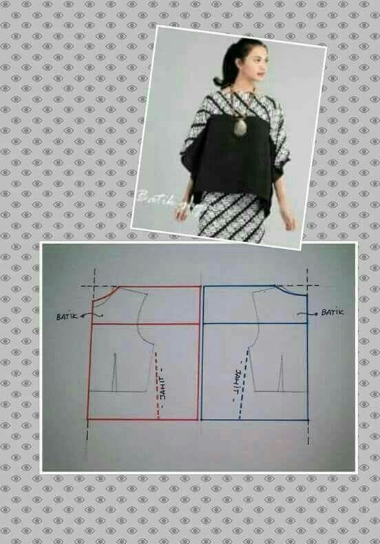 Pin by Emmy Kacaribu on pecah pola | Pinterest | Pattern drafting ...