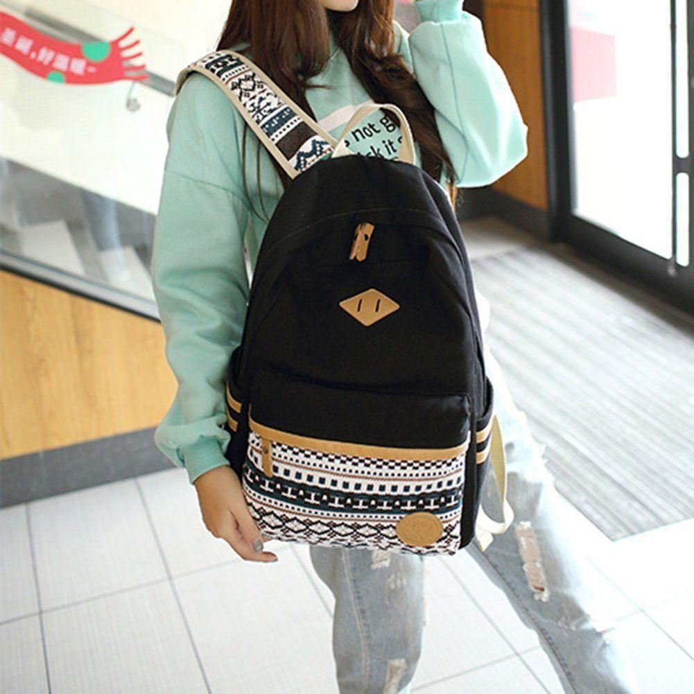 Backpack Mochilas Escolares,Marsoul Mujer Mochila Escolar