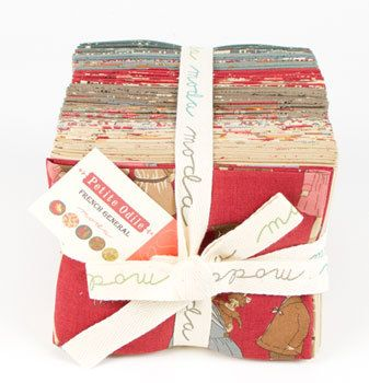 Petite Odile Fat Quarter Bundle  by French General for Moda  by CottonBerryfabrics, $99.00