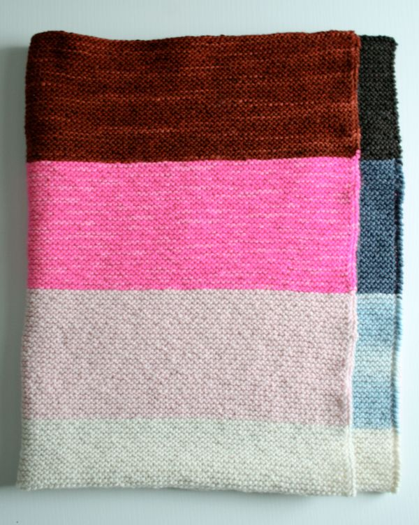 Whits Knits Super Easy Lap Blanket Knitting Crochet Sewing