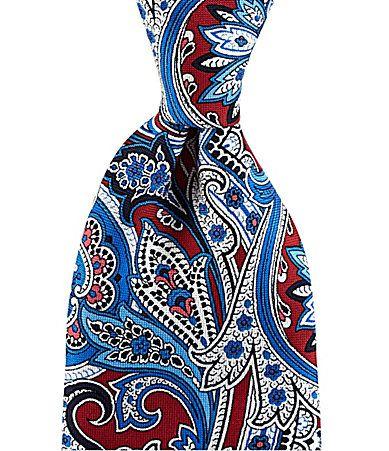 Cremieux Print Paisley Silk Tie #Dillards