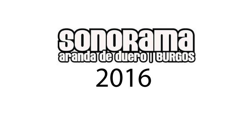 Sonorama 2016 |Cartel|Entradas|Horarios