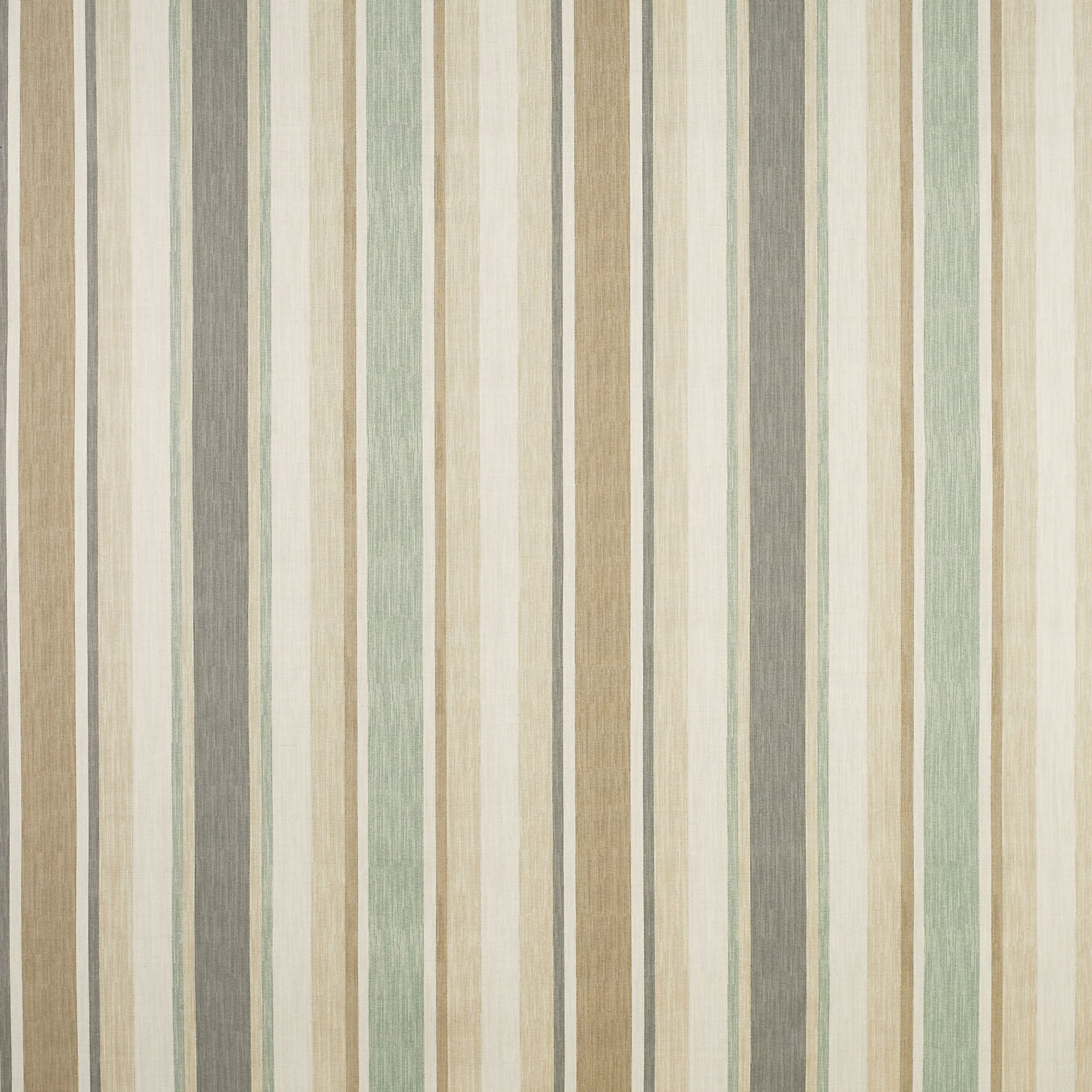 Awning Stripe Cotton/Linen Fabric Biscuit/Eau De Nil at LAURA ASHLEY ...