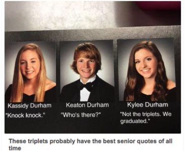 Funny Yearbook Quotes Twins: Funny Yearbook, Funny, Funny
