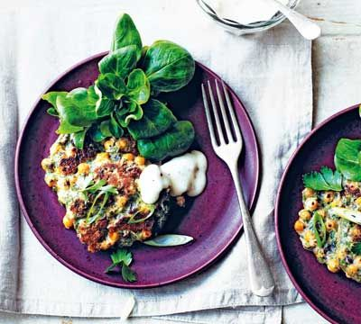 If you've got a can of chickpeas you've got @jordanbourk's fritters #NoMoreBoringMeals http://www.deliciousmagazine.co.uk/recipes/pan-fried-chickpea-fritters/ …