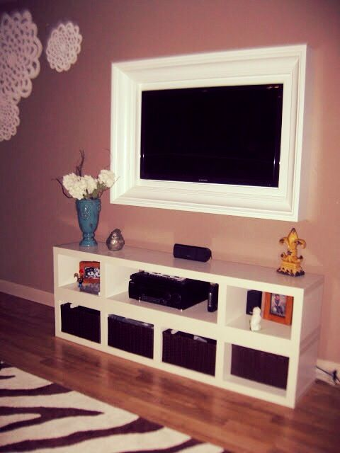 Framed Tv Projects To Try Pinterest