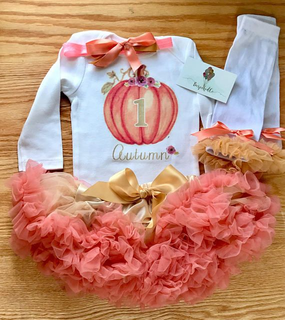 pumpkin patch pumpkin baby girl outfit pumpkin Fabric tutu outfit thanksgiving birthday outfit fall girls birthday outfit thanksgiving