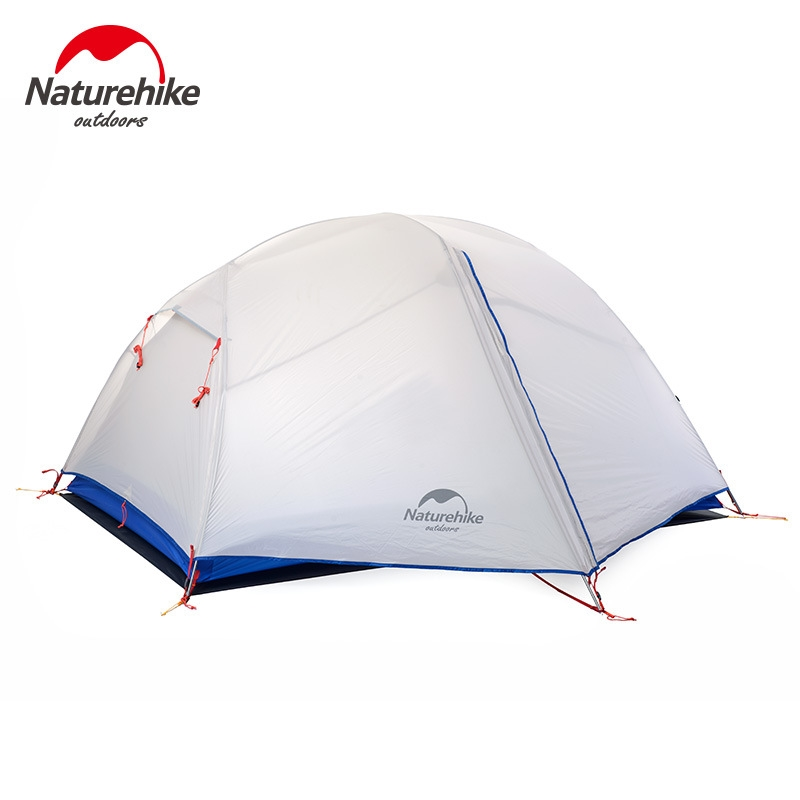143.80$  Watch here - http://alikp2.shopchina.info/1/go.php?t=32751008782 - Naturehike Camping Tent 2 Person 20D Silicone Fabric Double Layers Rainproof NH Outdoor Ultralight Tent 2Colors  #aliexpressideas
