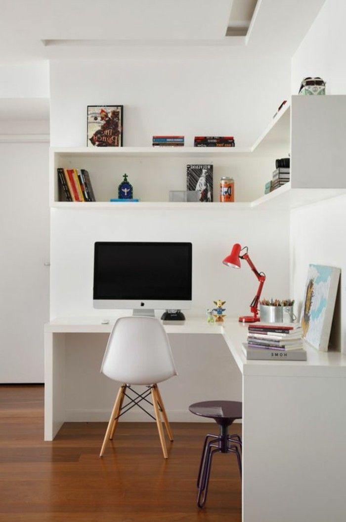 Jolies tag res d 39 angle pour mieux optimiser l 39 espace bureaux et biblioth ques en 2019 - Etageres pour salon bibliotheques bureau ...