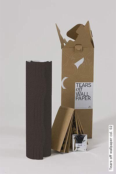Tear off wallpaper