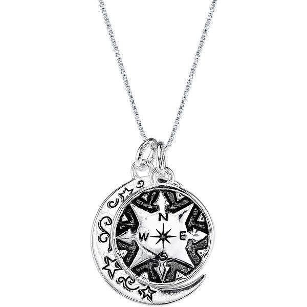 Be Inspired To Make Your Own Path With This Gorgeous: Inspired Moments™ Make Your Own Path Sterling Silver