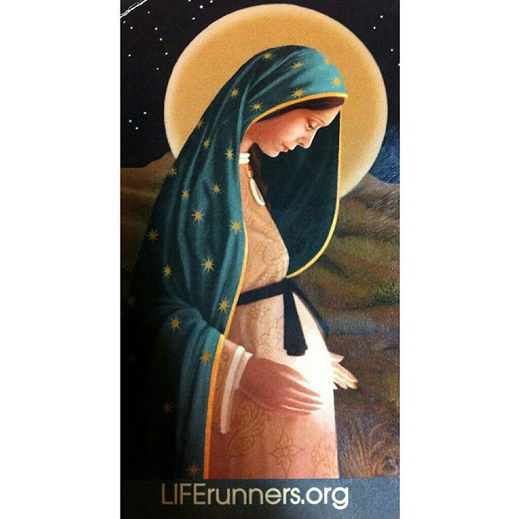 """""""Merry Christmas! Today our Lord Jesus Christ was born! When the angel came to Mary she was just 14 years old. We honor Mary for the sacrifices she made…"""""""