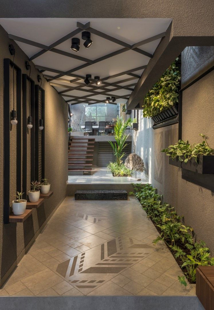 The Architects' Own Office   Entrance design, Foyer design ...