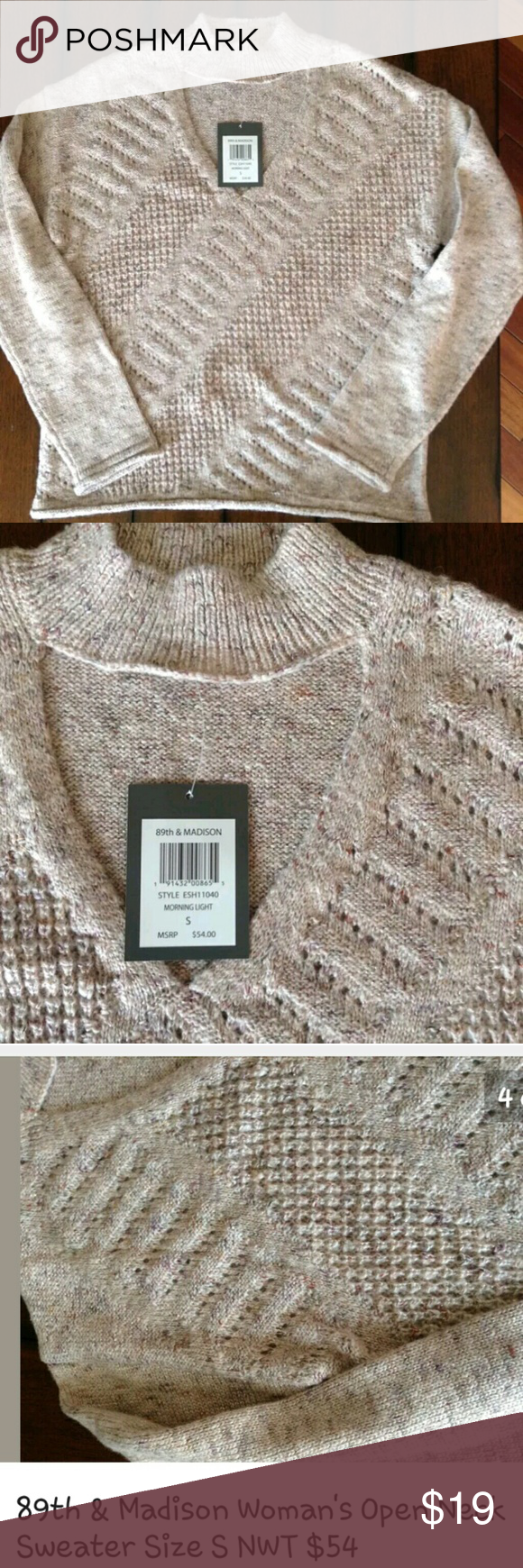 89th Madison Sweater Size Small Nwt Nice