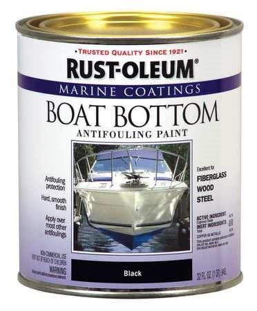 rust oleum blk marine bottom paint 207012 unit qt on lowes paint sale today id=57727