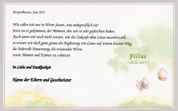 Trauerkarte Fur Kinder Schmetterling Aquarell Trauerkarte Trauer Trauerkarten Danksagung