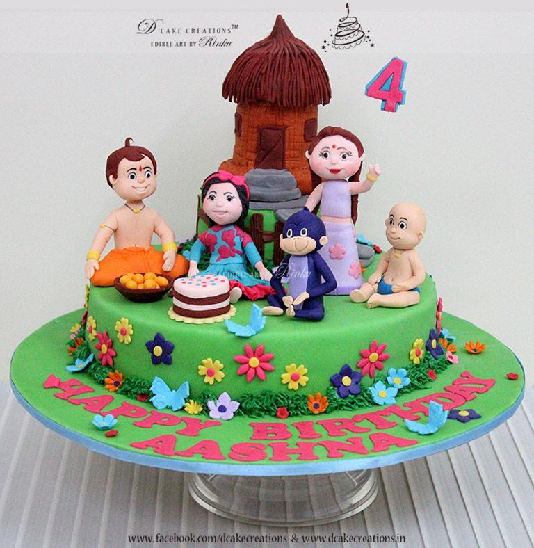 Chota Bheem Cake 3D Children s Cake Pinterest Cake ...