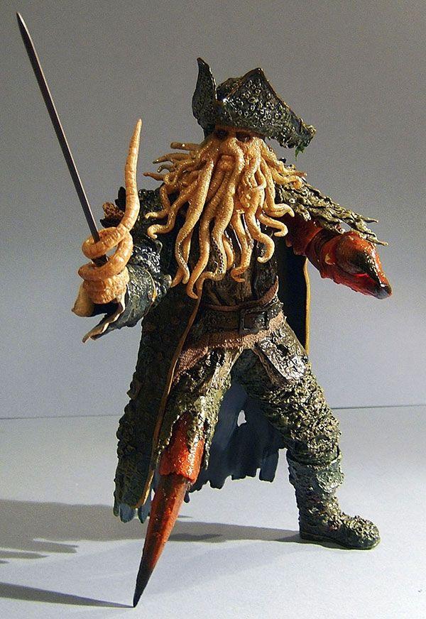 Davy Jones Pirates Des Caraibes : jones, pirates, caraibes, Pirates, Caribbean, Jones, Action, Figure., Jones,, Caribbean,