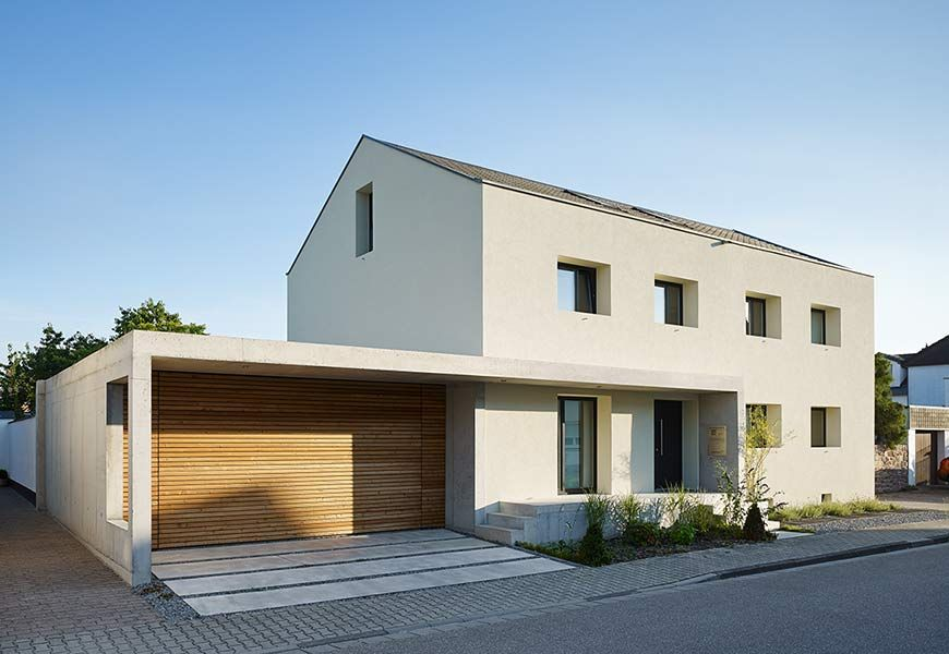 umbau sanierung und r ckf hrung zweier doppelhaush lften in ein einfamilienhaus h user. Black Bedroom Furniture Sets. Home Design Ideas