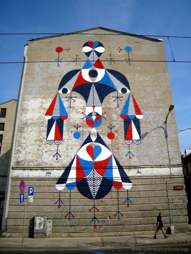 REMED mural in Poland