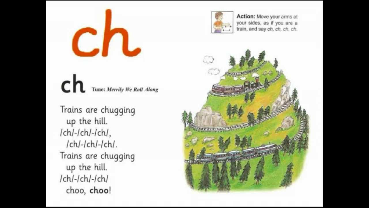 Image result for ch jolly phonics sound story
