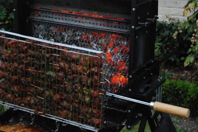La cuisson verticale avec le barbecue verticook ta sant pinterest - Barbecue a cuisson verticale ...